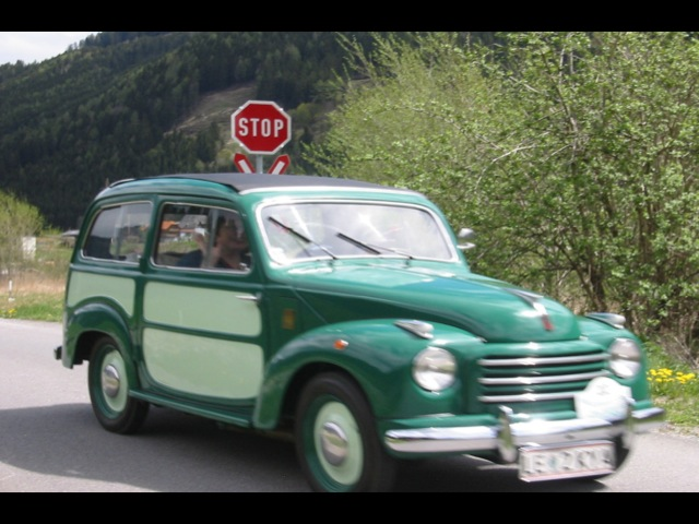 Steyr fiat topolino 1952